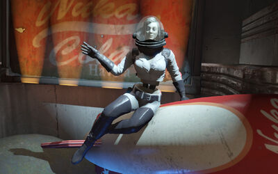 Nuka-Girl rocket suit Nuka Galaxy