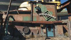 Diamond City schoolhouse