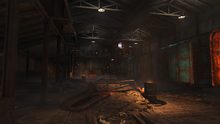 FO4 NH&M Freight Depot inside