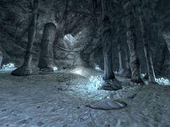 Silver Peak Mine cave