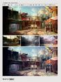 Diamond City color studies.png