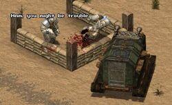FOT vehicle combat