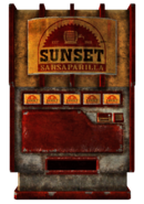 SunsetSarsaparilla vending machine
