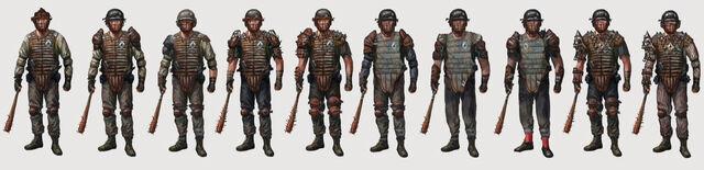 File:FO4 DC guard armor lineup.jpg