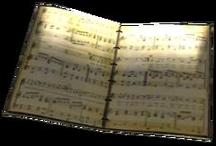 Sheet Music Book