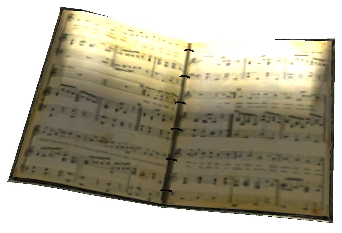 music book sheet fallout wikia wiki latest