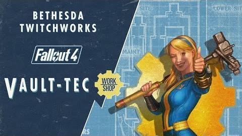 Bethesda Plays Fallout 4 - Vault-Tec Workshop (Developer Walkthrough)