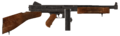 .45 Auto submachine gun with the drum magazine modification.png