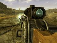 Gauss rifle back shot