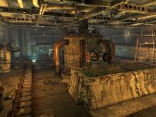 South cistern interior