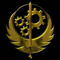 BOS logo (gold)
