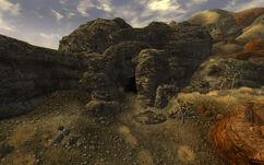 Bloodborne Cave exterior