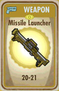 FoS Missile Launcher Card