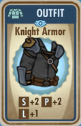 FoS Knight Armor Card
