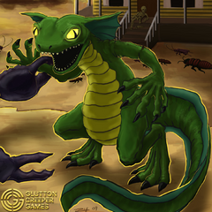 Green gecko from <i><a href=