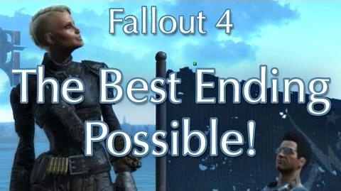 """Fallout 4 Best """"Good Ending"""" Possible! (Brotherhood AND Railroad Survive!)"""