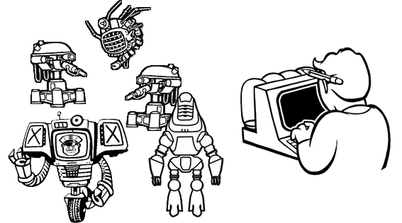 File:Robot and computer icon.png