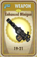 FoS Enhanced Minigun Card