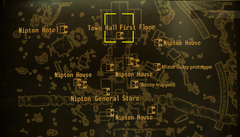 Nipton Town Hall local map