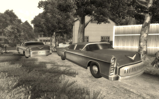 File:Vault 112 Classic car and little white house.jpg