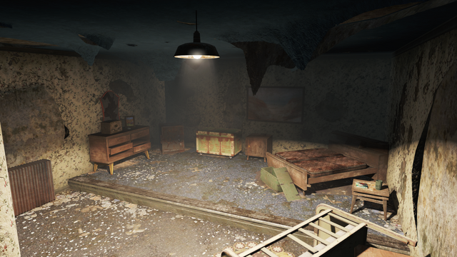 File:FO4 Mayoral Shelter Sleeping Room.png