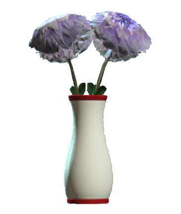 File:Glass flared red vase.png