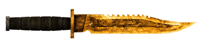 File:Golden Combat Knife.png