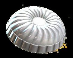 Clean cake pan