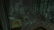 FO4 Croup Manor Basement Back Area