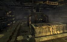 North cistern interior