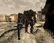 Fallout New Vegas Super Mutant on Black Mountain