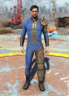Fo4 - Mantis armor