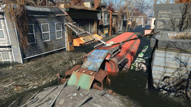 File:FO4 Forest Grove marsh (Red Tanker Trailer).jpg