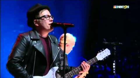 Fall Out Boy 2015 NHL All Star Game