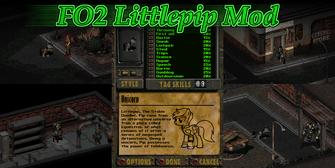 Fallout 2 Littlepip Mod