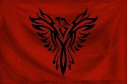 Crimson Empire Flag