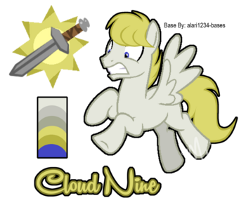 Mlp oc cloud nine reference by mychelle-d93is4o