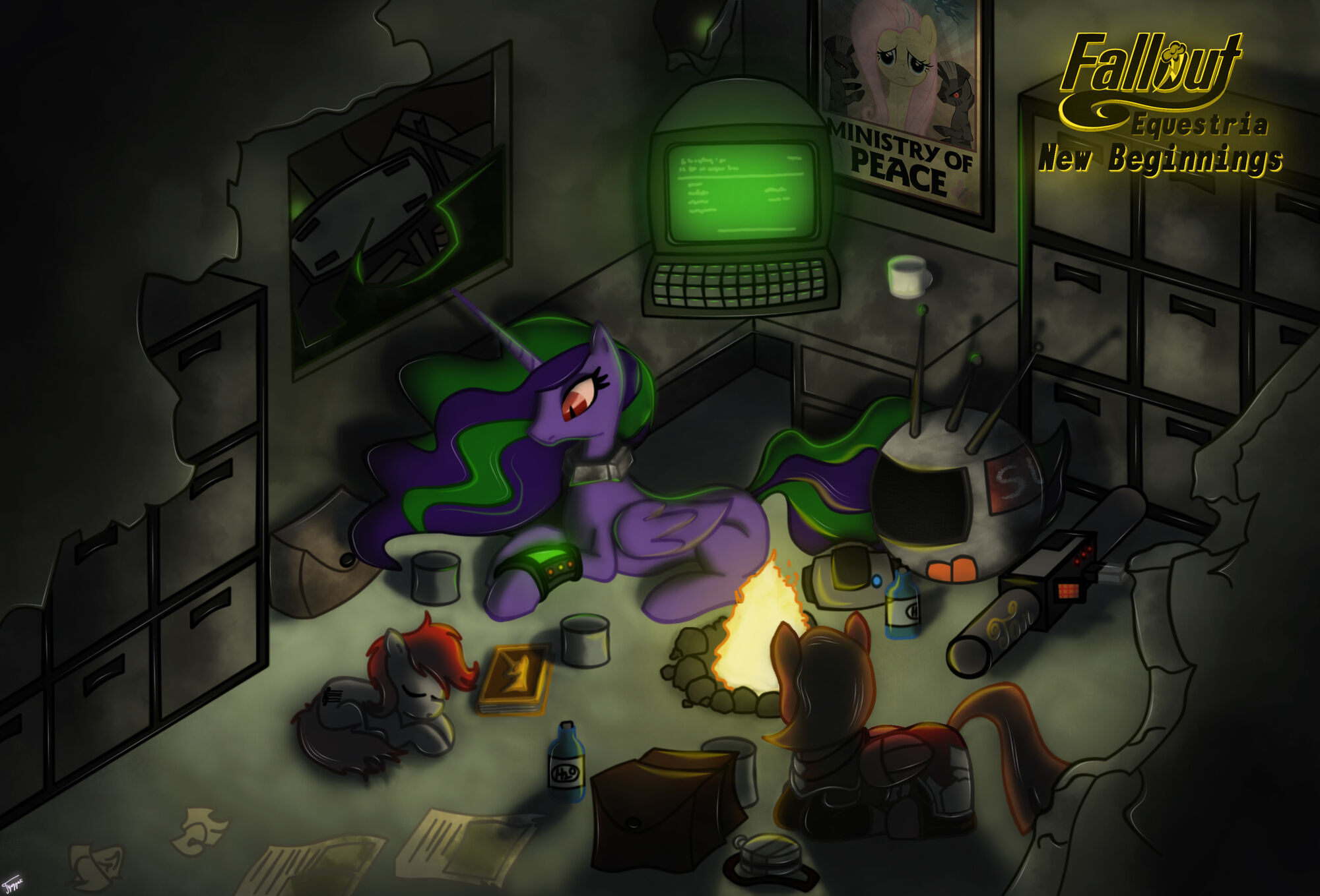 Fallout: Equestria - New Beginnings