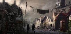 Ruined Welsh Village