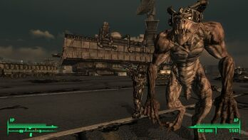Fallout 3 DLC Deathclaw by RustyRaccoon