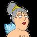 Facespace portrait adamwest fairygodmother