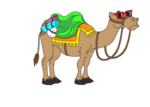 Deco-party-camel