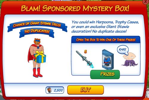 Wk6 - Blam Sponsored Mystery Box