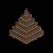 Decoration beerPyramid
