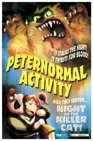 Peternormal Activity Poster