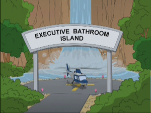 Executive Bathroom Island