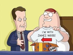 Family guy peter james woods