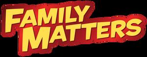 Family Matters DVD Banner