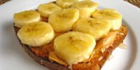 Peanut Butter & Banana Toast by BusyMom123