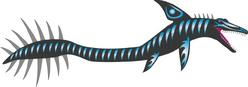 Giant Mosasaur